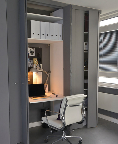 M s ideas para decorar tu oficina en casa el blog de - Decoracion despachos en casa ...
