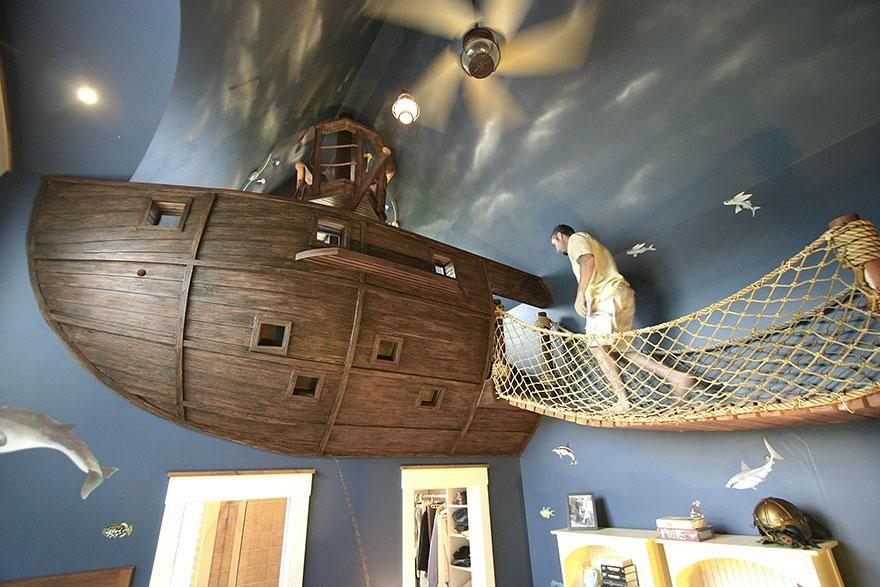 Habitaciones creativas para niños   el blog de sillas muebles el ...