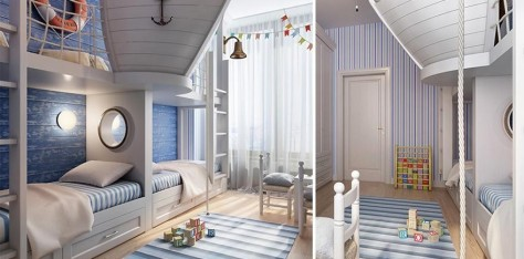 Habitaciones creativas para ni os el blog de sillas for Diseno de habitaciones de ninos