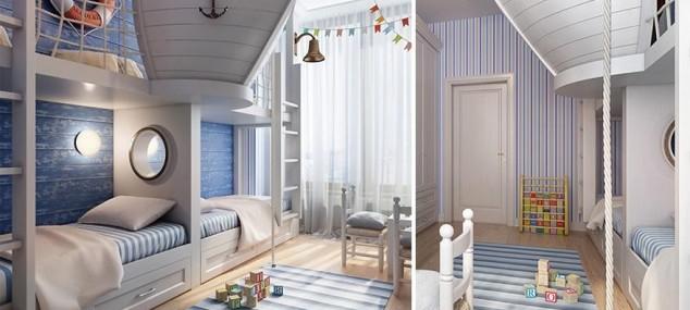 Habitaciones creativas para niños