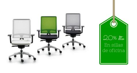 20% de dto en todas nuestras sillas de oficina