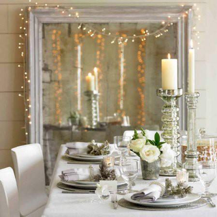 Ideas para decorar con luces de navidad el blog de sillas - Luces para espejos ...