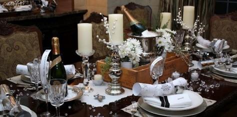 Ideas para decorar tu mesa de navidad el blog de sillas - Ideas para decorar mesa navidad ...