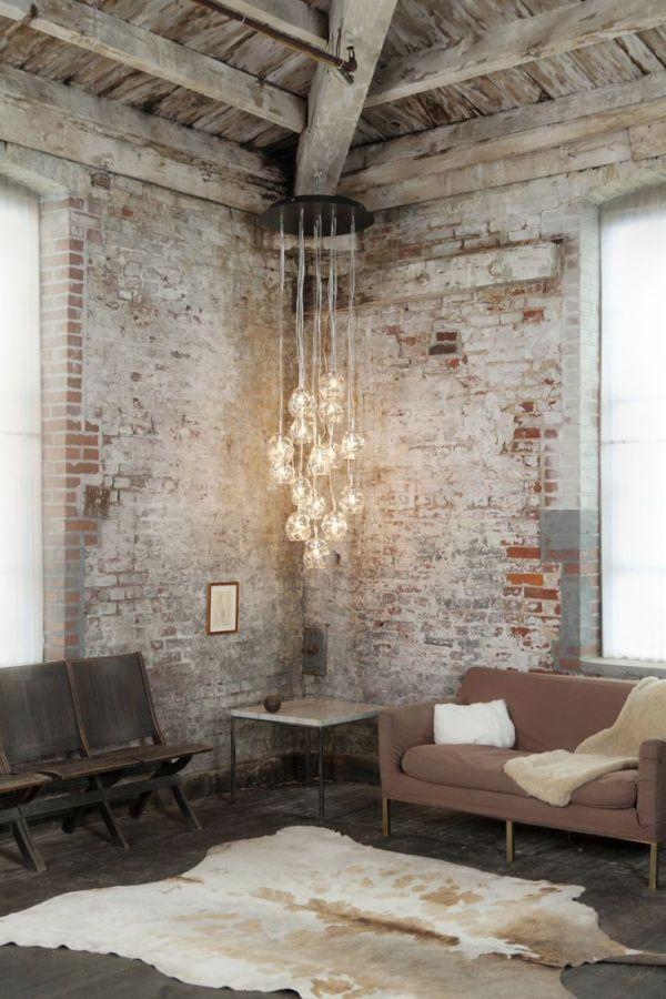 Como conseguir un estilo industrial para decorar tus for Paredes estilo industrial