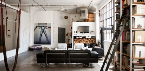 Como conseguir un estilo industrial para decorar tus for Muebles industrial loft