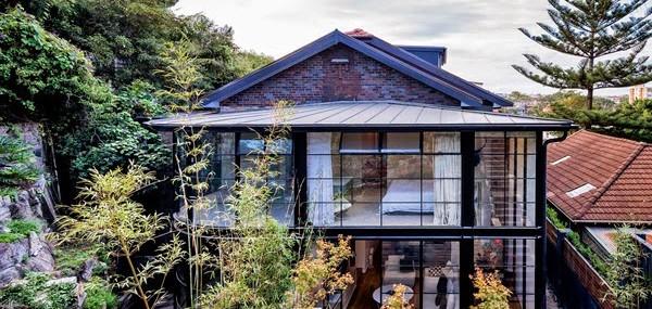 Casas de ensueño: Una fachada de cristal