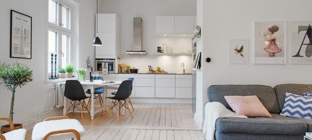 El mueble nórdico en la cocina