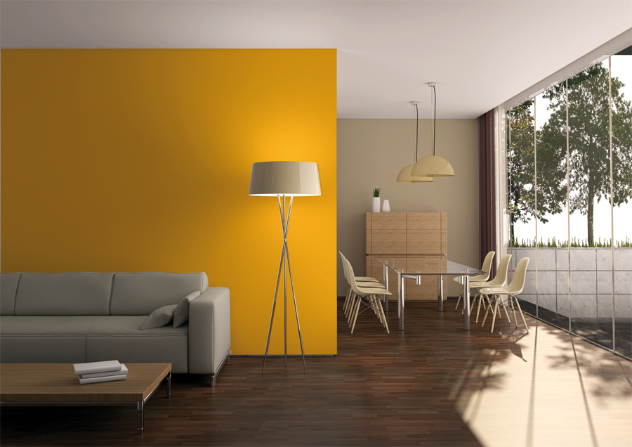 El amarillo quiz s el color antidepresivo por excelencia - Combina colores en paredes ...