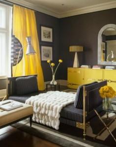 como-decorar-salas-color-gris-amarillo-