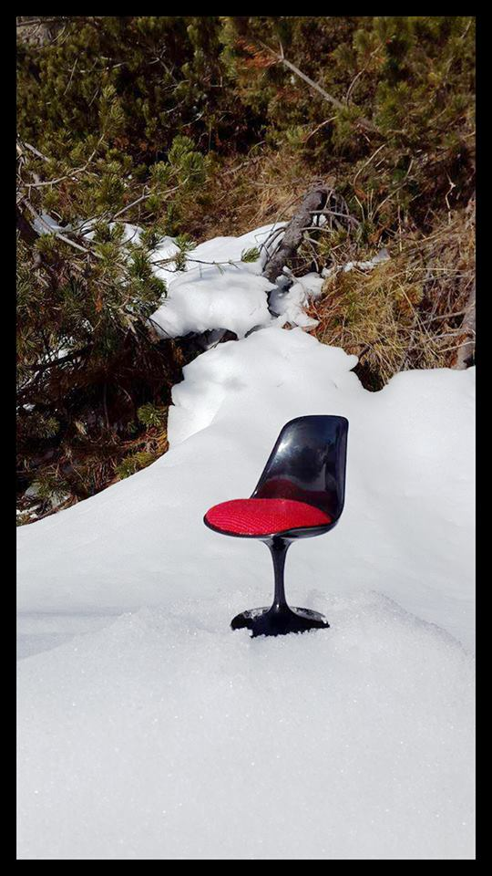 silla mini nieve