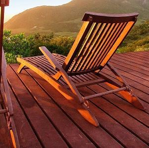 muebles de exteior de madera