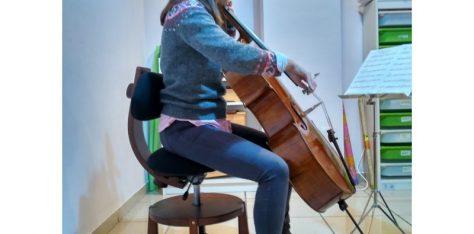 SILLA  ERGONÓMICA MUSICAL