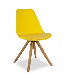 Silla Diseño Alf Amarillo