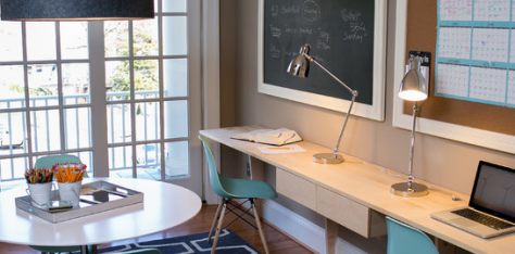 M s ideas para decorar tu oficina en casa el blog de sillas muebles sillas de dise o y ergon micas - Ideas decoracion despacho ...